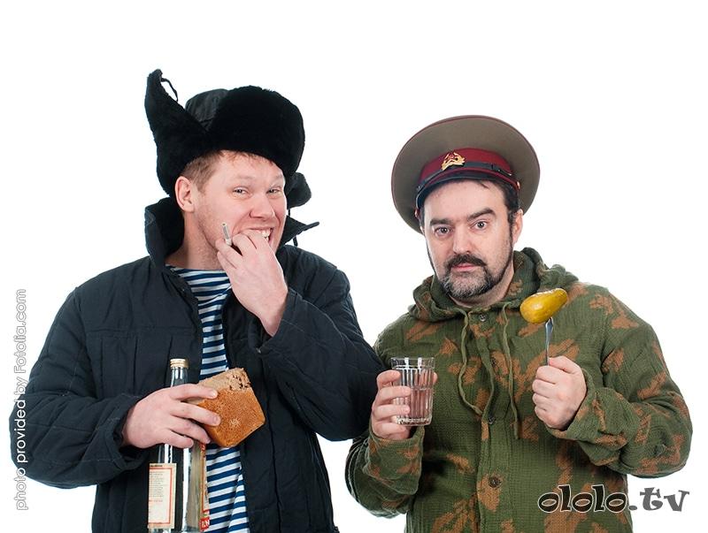 причуды русских