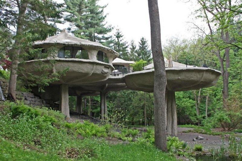 House - mushroom