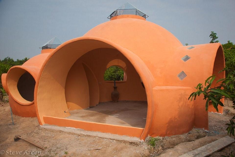 Купольный дом - готовый каркас