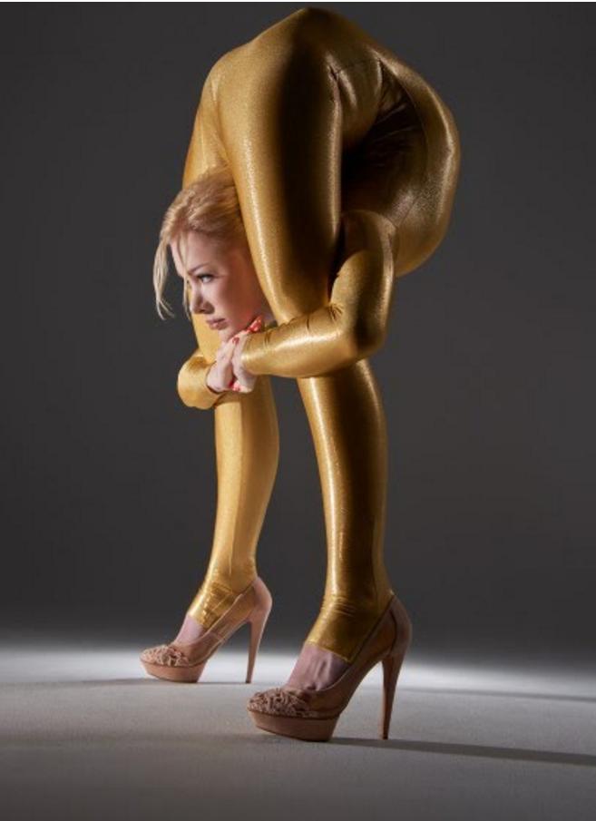 На что способна самая гибкая женщина в мире рис 6