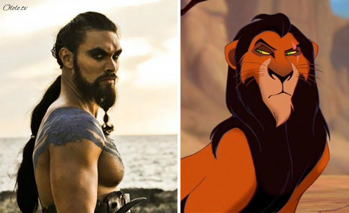 Эти люди как две капли воды похожи на героев популярных мультфильмов!