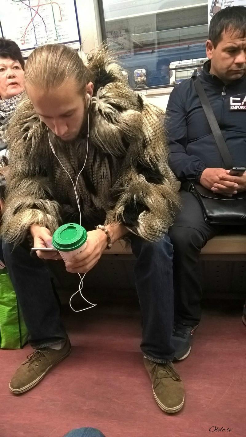 Модные люди в метро 2: осторожно, здесь может быть ваша фотография! рис 6