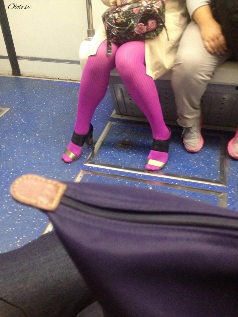Модные люди в метро 2: осторожно, здесь может быть ваша фотография! рис 3