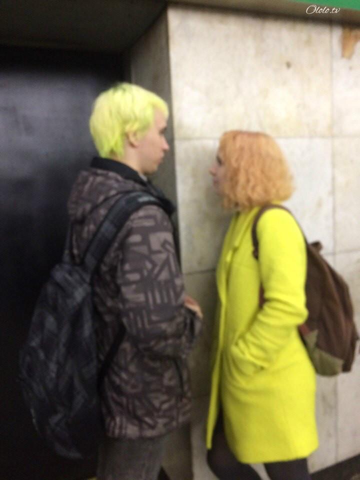 Модные люди в метро 2: осторожно, здесь может быть ваша фотография! рис 2