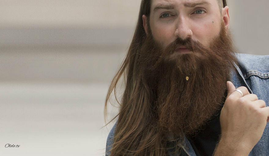 Первая в мире коллекция ювелирных изделий для бородатых мужчин