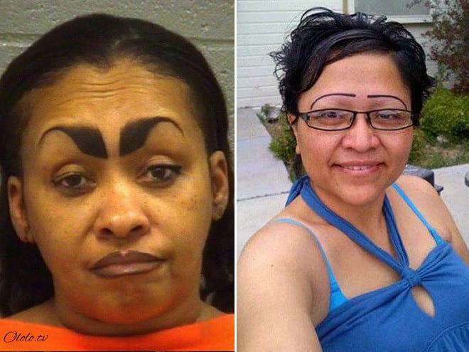 Ах эти женские брови! 19 фото