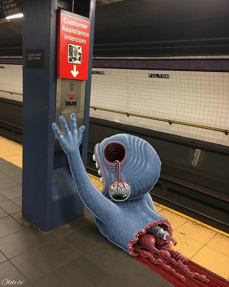 Нью-Йорк, захваченный монстрами. Часть II рис 5