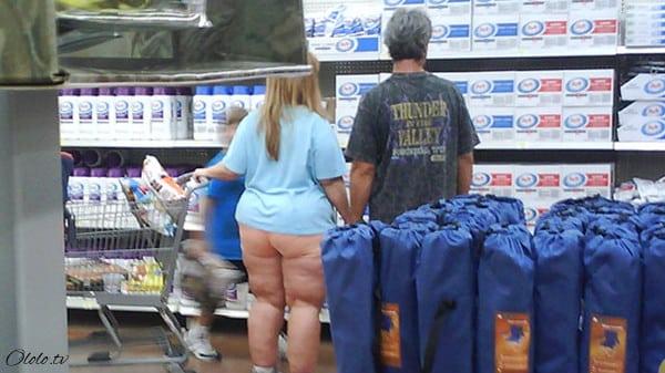 Эти люди просто пришли за покупками в американский супермаркет Walmart рис 5