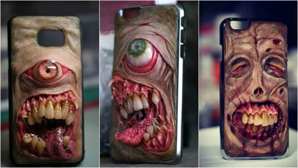 Жуткие чехлы, которые способны превратить ваш смартфон в ужасных мутантов