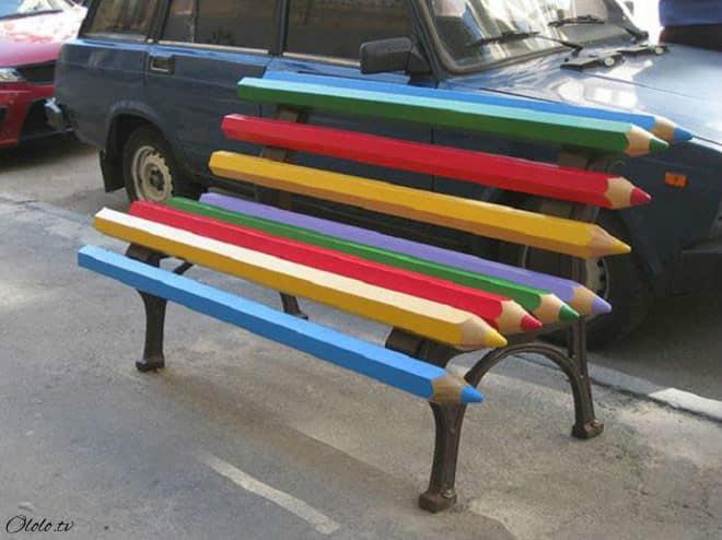 30 самых необычных и оригинальных уличных скамеек со всего мира. Часть II