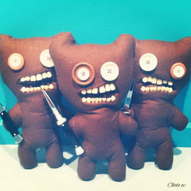 Жуткие плюшевые игрушки, которые один раз увидишь и никогда не забудешь