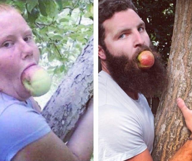 Как прославиться в интернете, передразнивая фотографии из чужих профилей в Tinder