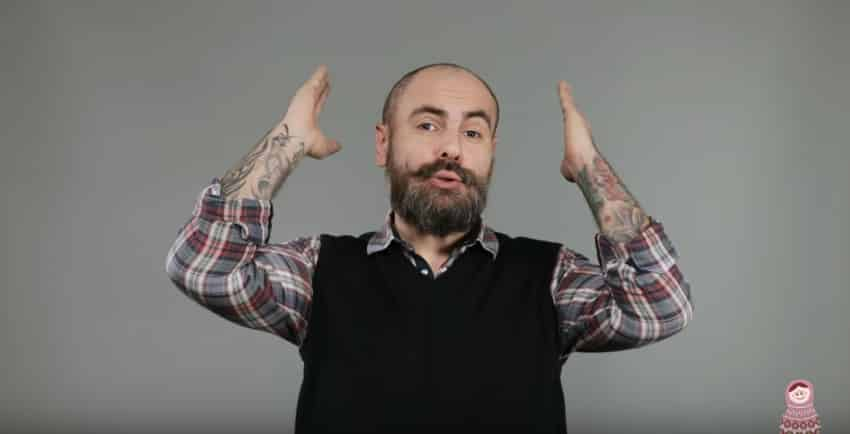 Эмоциональные итальянцы пытаются ругаться по-русски. Видео