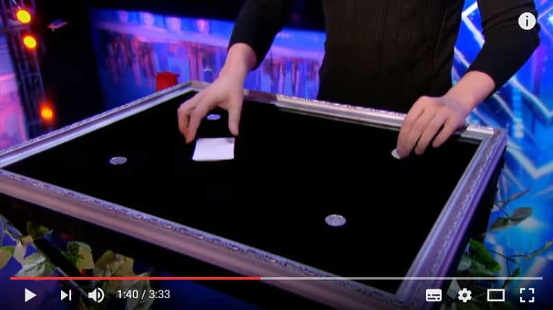 Фокусы с монетами и картами на грани волшебства. Видео