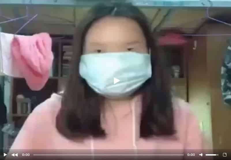 Веселый клип от азиатских студенток