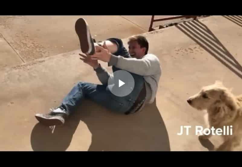 Парень решил испытать на себе шоковый ошейник для собак. Видео