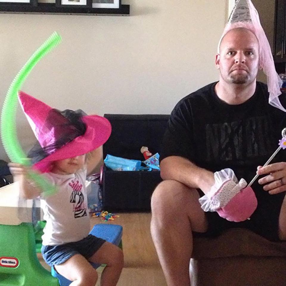 Фото неотразимых отцов, которые растят дочерей! рис 5