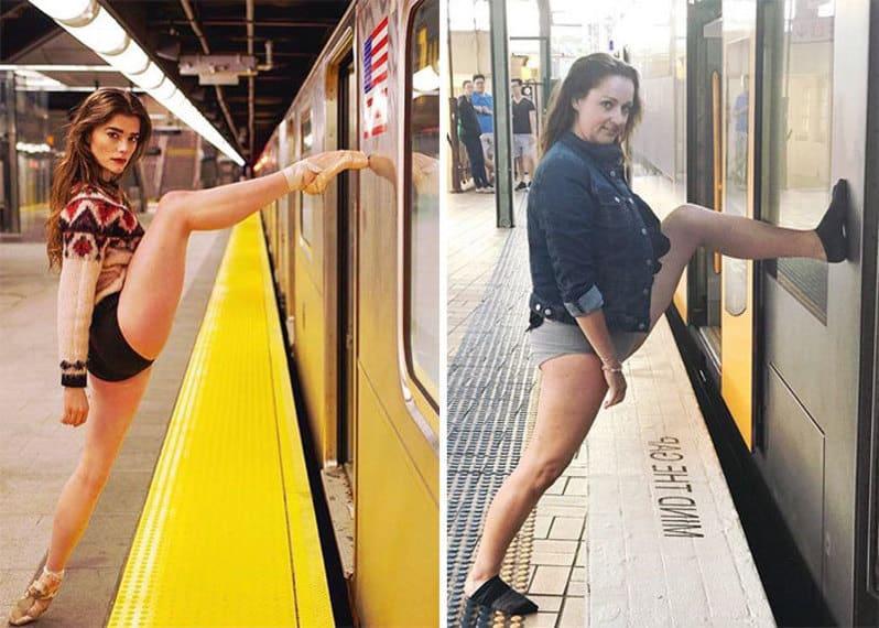15+ идеальных фото из Инстаграм, высмеянных пародисткой из Австралии. Часть II