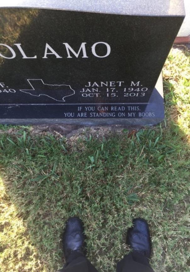 17 смешных надписей на надгробиях от людей, чье чувство юмора будет жить вечно! рис 16