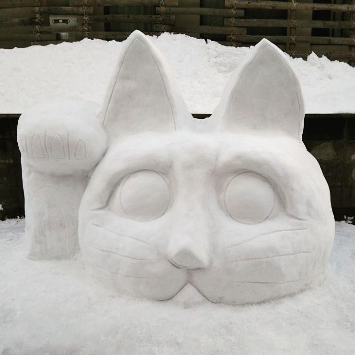 17 снеговиков, доказывающих, что у японцев все не как у людей! рис 16