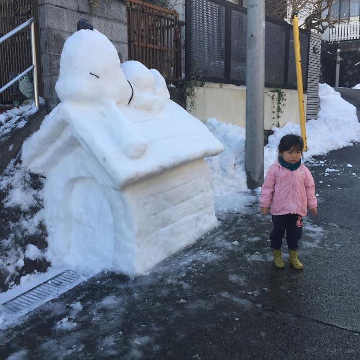 17 снеговиков, доказывающих, что у японцев все не как у людей! рис 14