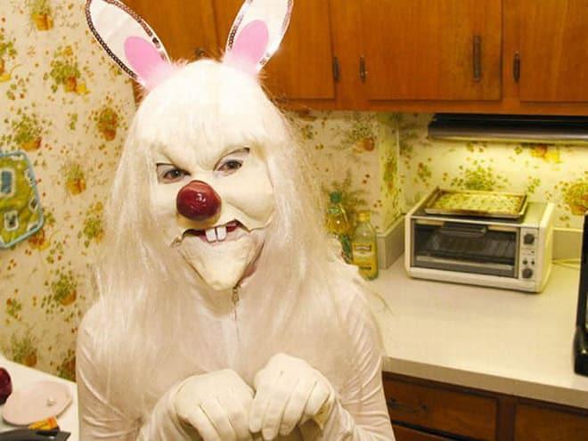 20 пасхальных кроликов, которые будут сниться вам в кошмарах