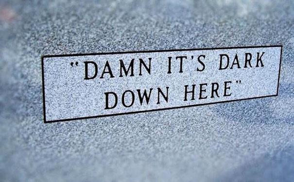 17 смешных надписей на надгробиях от людей, чье чувство юмора будет жить вечно! рис 6