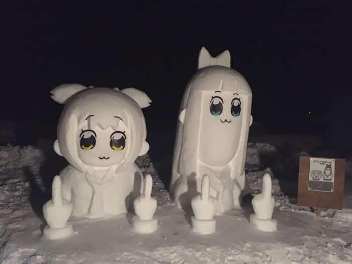17 снеговиков, доказывающих, что у японцев все не как у людей! рис 6