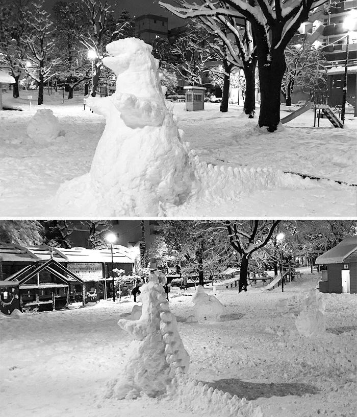 17 снеговиков, доказывающих, что у японцев все не как у людей!