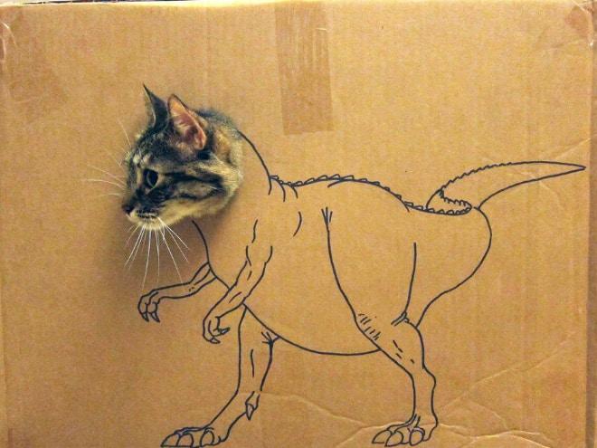 14 забавных котозавров со всего интернета!