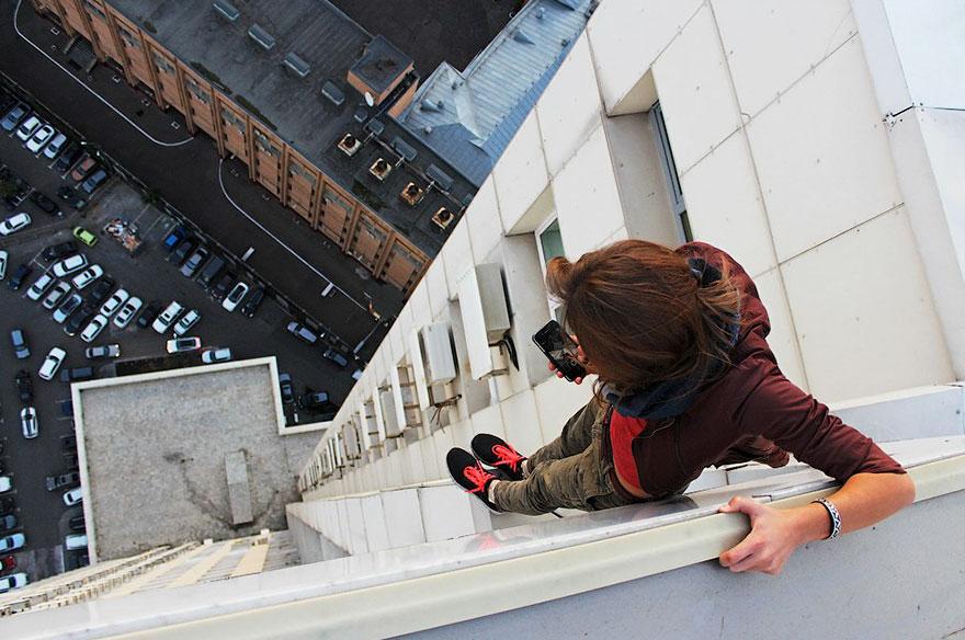 14 самых опасных селфи в мире в исполнении русского фотографа рис 5