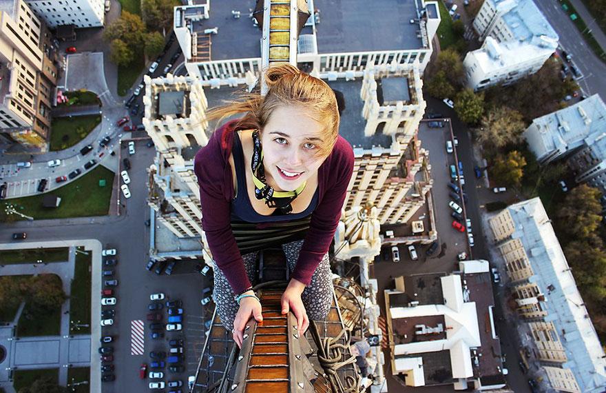 14 самых опасных селфи в мире в исполнении русского фотографа рис 4