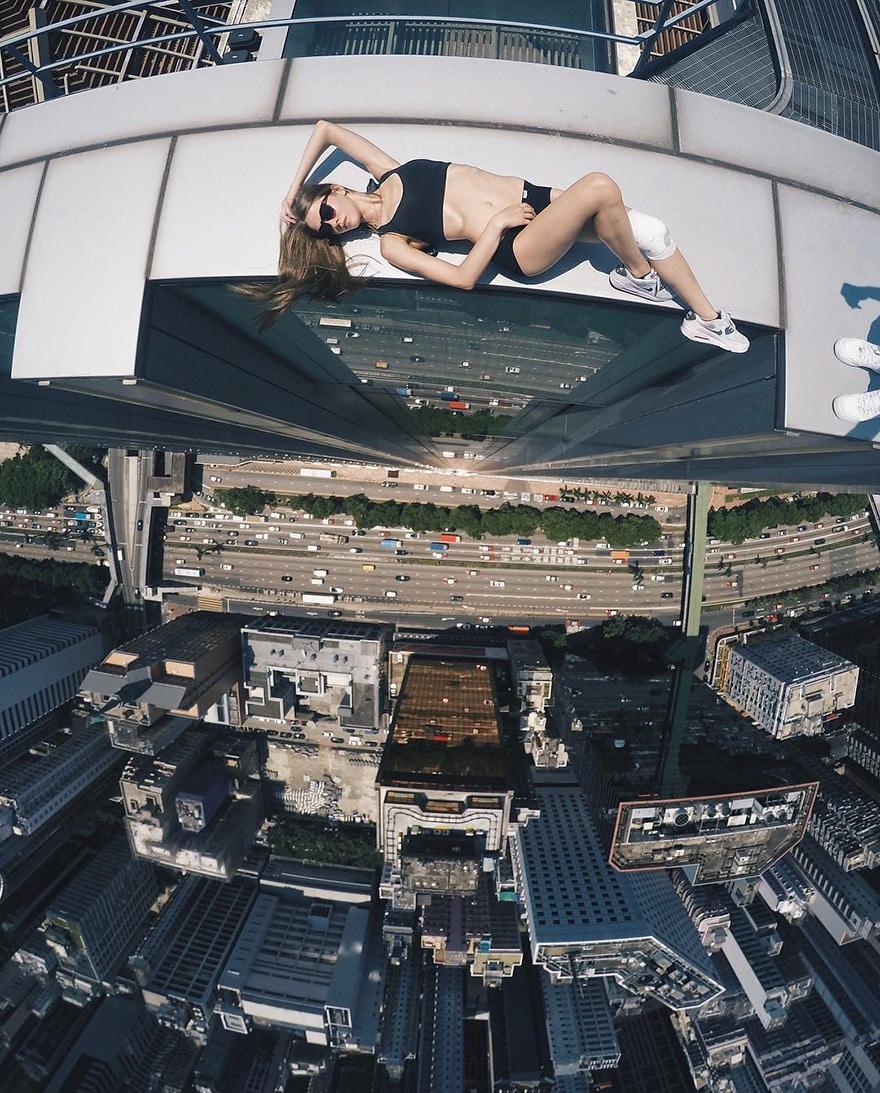 14 самых опасных селфи в мире в исполнении русского фотографа рис 13