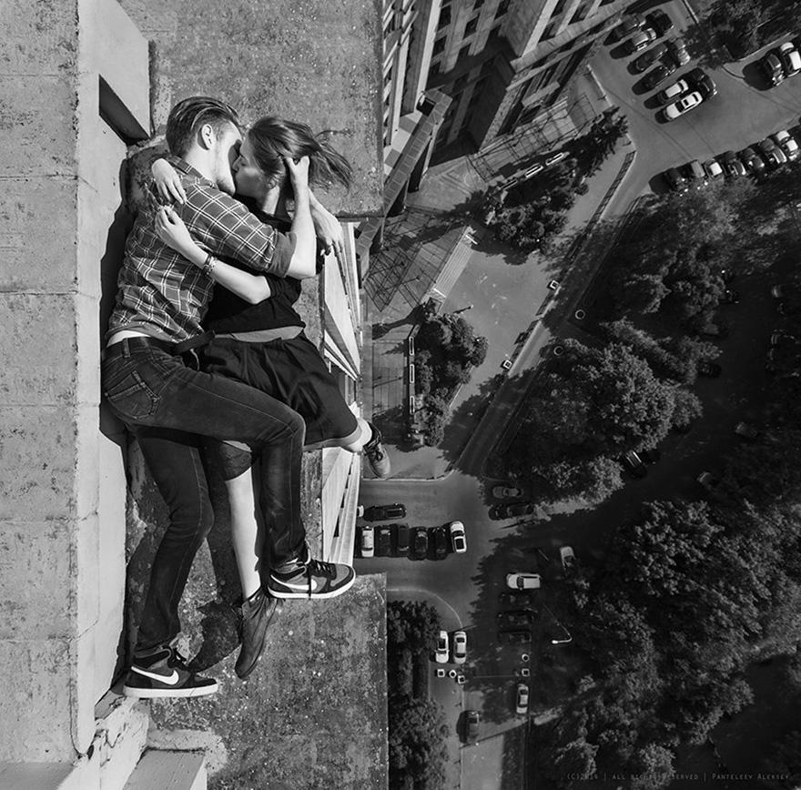 14 самых опасных селфи в мире в исполнении русского фотографа рис 12