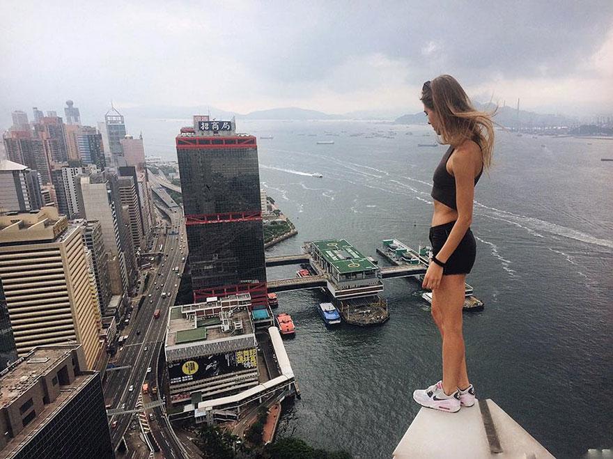 14 самых опасных селфи в мире в исполнении русского фотографа рис 8
