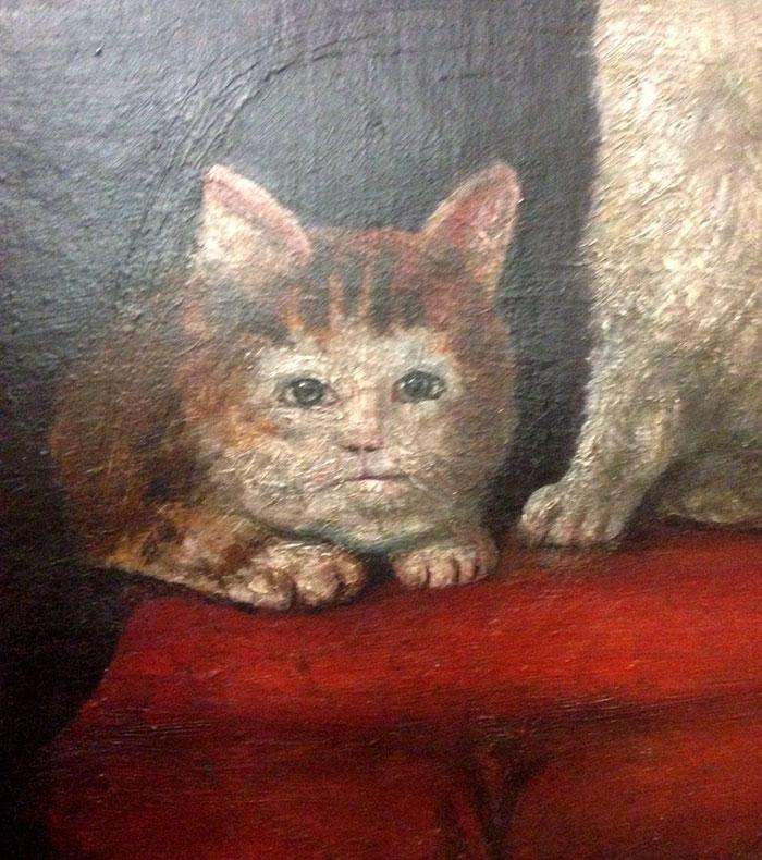 10 + фото, смешных котов Средневековья! рис 4