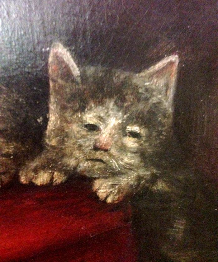 10 + фото, смешных котов Средневековья! рис 5