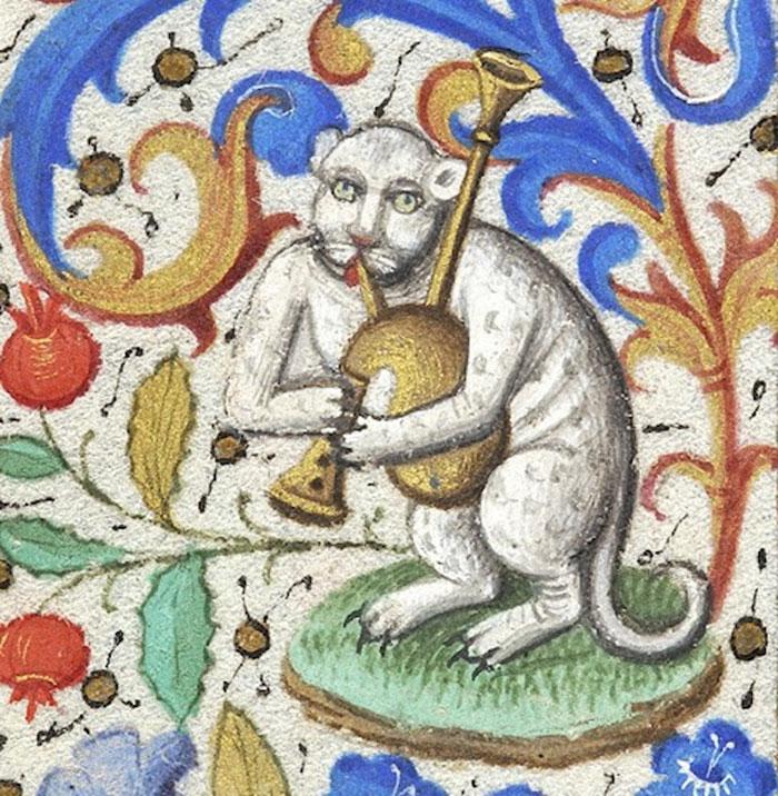 10 + фото, смешных котов Средневековья! рис 6