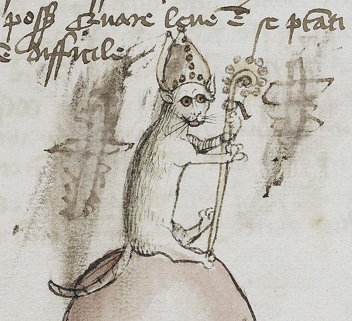 10 + фото, смешных котов Средневековья! рис 9