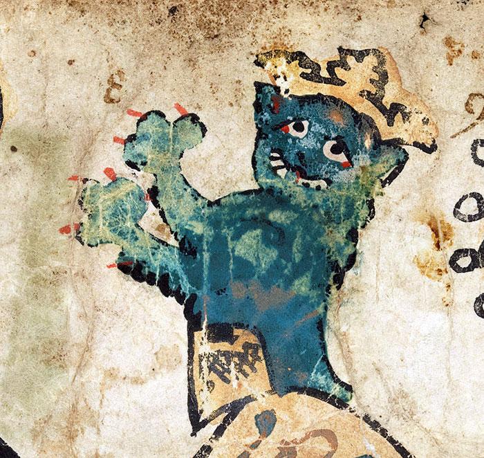 10 + фото, смешных котов Средневековья! рис 13