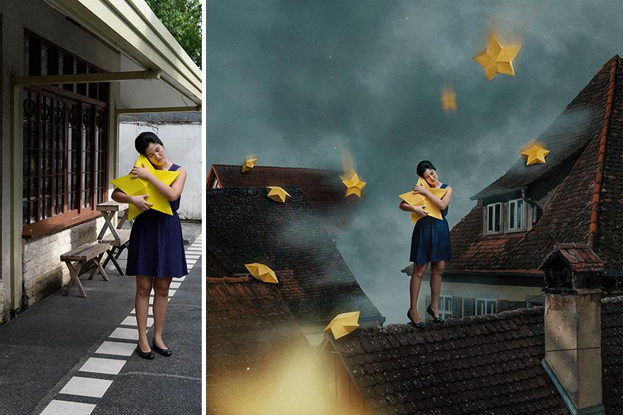 20 фото из заднего двора, которые художница превратила в сказочные картинки!
