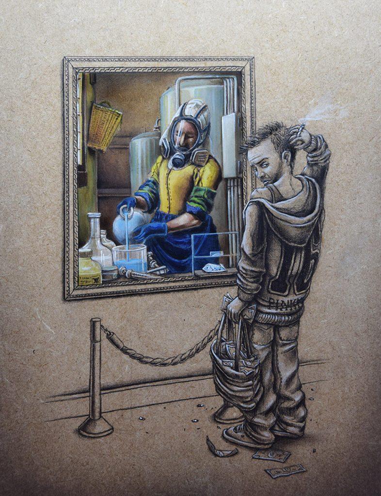 15 рисунков о том, что происходит в параллельной реальности прямо сейчас! :) рис 10