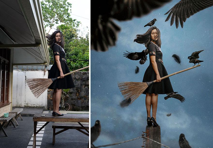 20 фото из заднего двора, которые художница превратила в сказочные картинки! рис 10
