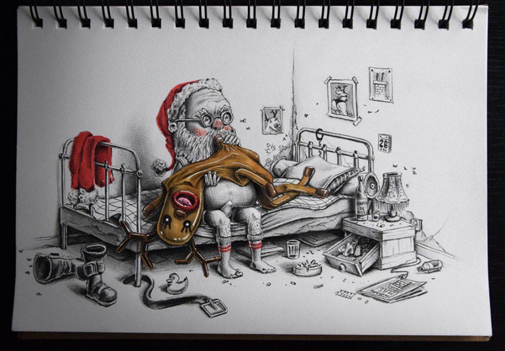 15 рисунков о том, что происходит в параллельной реальности прямо сейчас! :) рис 11