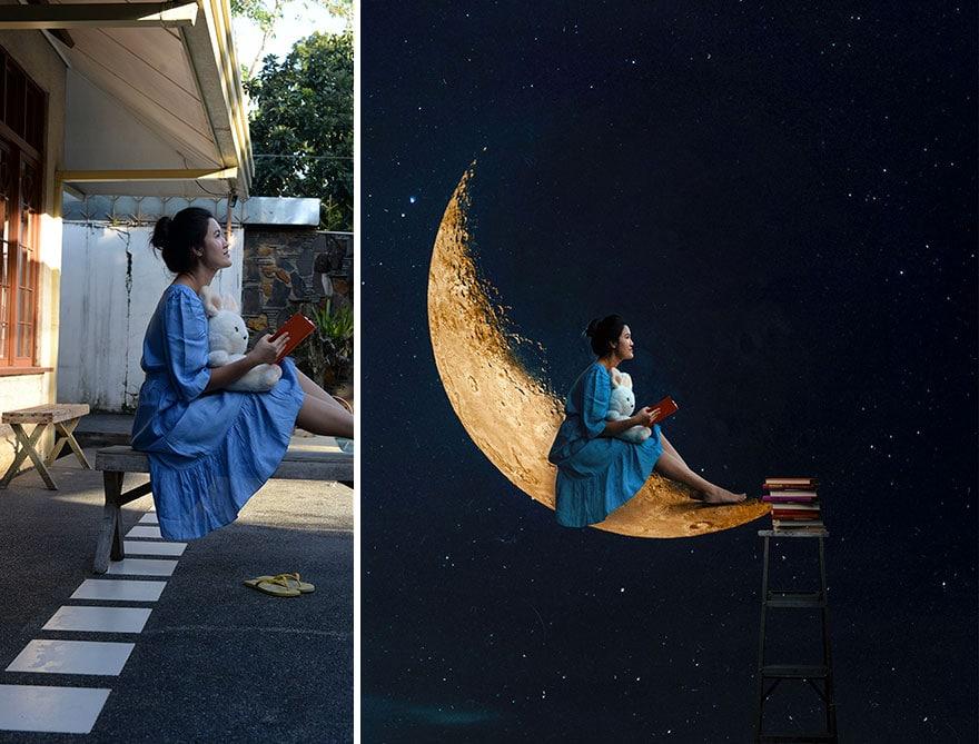 20 фото из заднего двора, которые художница превратила в сказочные картинки! рис 12