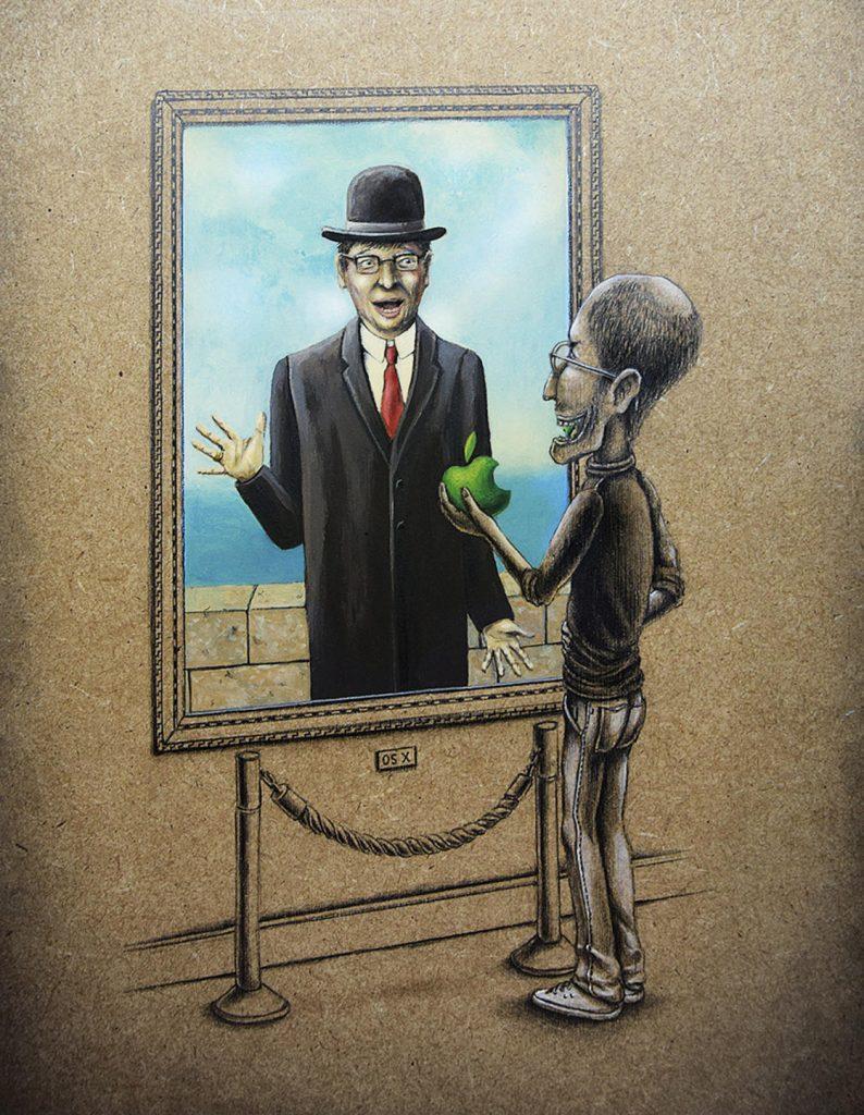 15 рисунков о том, что происходит в параллельной реальности прямо сейчас! :) рис 15