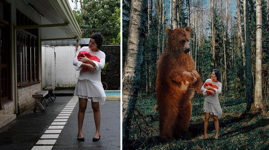 20 фото из заднего двора, которые художница превратила в сказочные картинки! рис 16