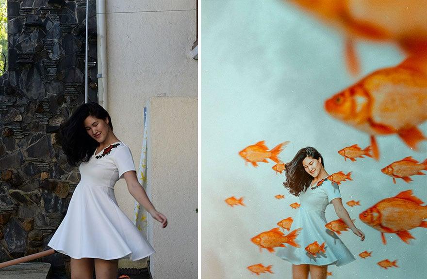 20 фото из заднего двора, которые художница превратила в сказочные картинки! рис 17