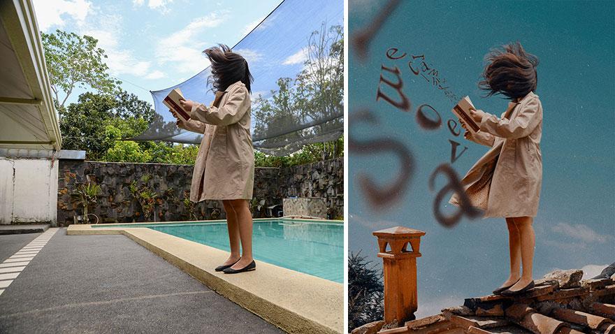 20 фото из заднего двора, которые художница превратила в сказочные картинки! рис 18
