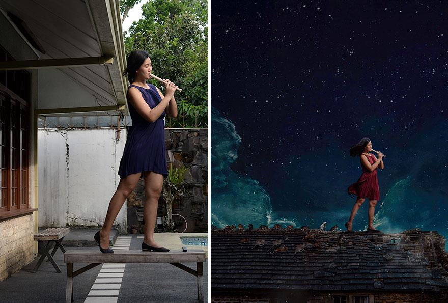 20 фото из заднего двора, которые художница превратила в сказочные картинки! рис 2